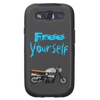 Corredor del café, motocicleta libre usted mismo d galaxy SIII cobertura