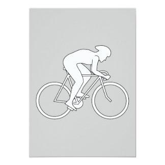 Corredor del ciclista anuncios personalizados
