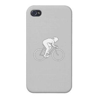Corredor del ciclista iPhone 4 funda