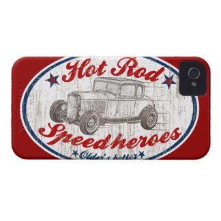 Corredor del coche de carreras iPhone 4 Case-Mate carcasa