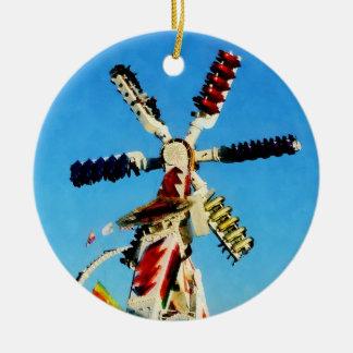Corredor del espacio en distancia ornamento para arbol de navidad