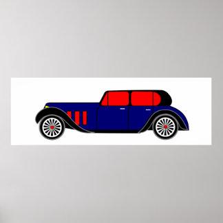 Corredor del gángster - coche virtual poster