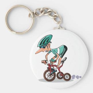 Corredor en llavero del triciclo