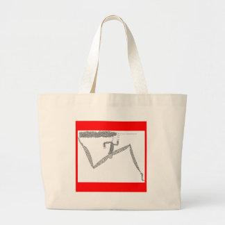 corredor flaco bolsa de mano