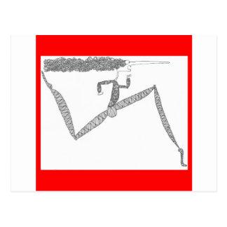 corredor flaco postal