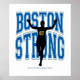 Corredor fuerte de Boston Póster