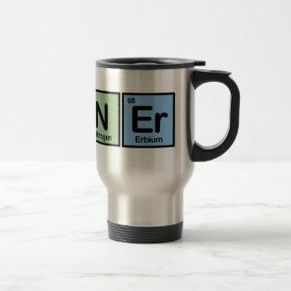 Corredor hecho de elementos taza de viaje de acero inoxidable