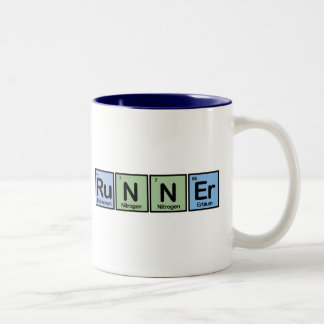 Corredor hecho de elementos tazas de café