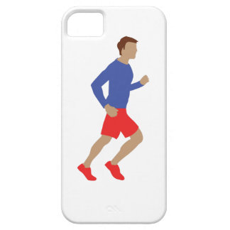 corredor masculino iPhone 5 funda