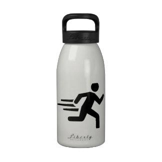 Corredor rápido botella de beber