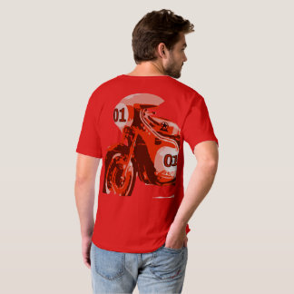 Corredor rojo camisas