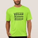 Corredores Brisbane del vegano Playera