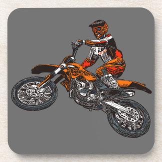 Corredores de la motocicleta posavaso