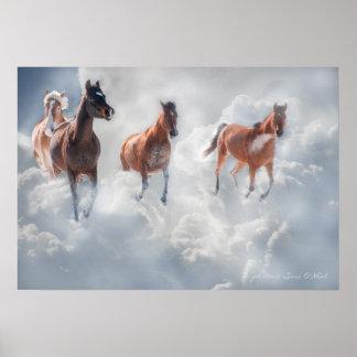 Corredores de la nube impresiones