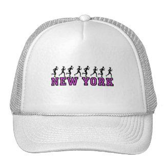 Corredores de Nueva York Gorras