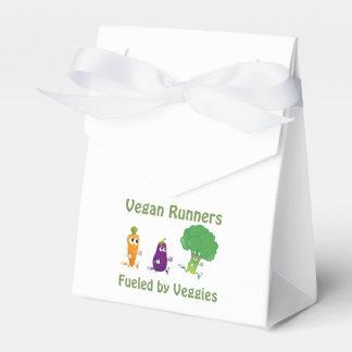 Corredores del vegano - aprovisionados de cajas para regalos de boda