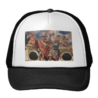 Correggio- The Assumption of the Virgin (detail) Trucker Hat