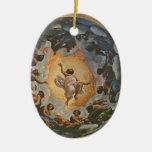 Correggio- Vision de St. John en Patmos Adorno Para Reyes