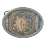 Correggio- Vision de St. John en Patmos Hebillas De Cinturon