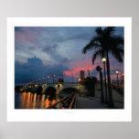 Correhuela: Salidas del sol #111810a de la Florida Poster