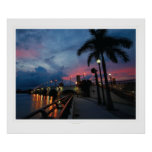 Correhuela: Salidas del sol #111810b de la Florida Posters