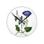 Correhuelas azules bordadas relojes