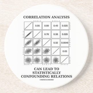 Correlation Analysis Lead Statistically Relations Drink Coaster