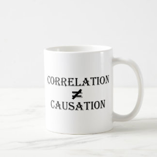 Correlation Does Not Equal Causation Mugs