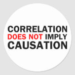 Correlation Does Not Imply Causation Sticker