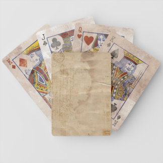 Correo aéreo del vintage que juega la cubierta baraja cartas de poker
