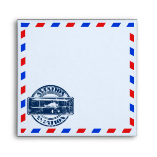 Correo aéreo del vintage sobres