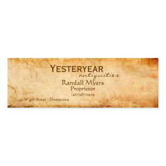 Correo aéreo del vintage tarjetas de visita