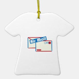 Correo de Letter_Air Adorno De Cerámica En Forma De Camiseta