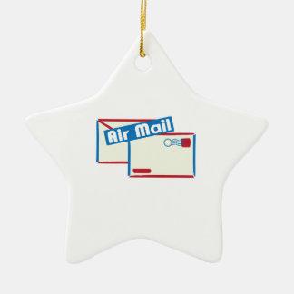 Correo de Letter_Air Adorno De Cerámica En Forma De Estrella