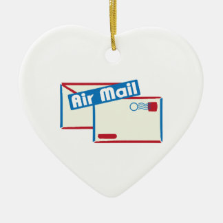 Correo de Letter_Air Adorno De Cerámica En Forma De Corazón