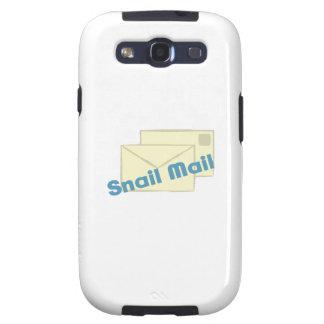 Correo de Letter_Snail Galaxy S3 Protectores