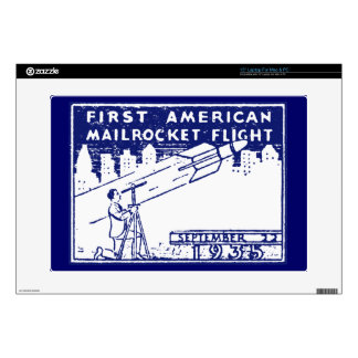 Correo de Rocket de 1935 americanos Portátil Calcomanía