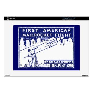 Correo de Rocket de 1935 americanos Portátil Skin