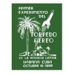 Correo de Rocket de 1939 cubanos Postales