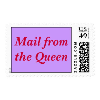 Correo del sello de la reina
