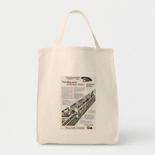 Correo ferroviario en el ferrocarril central 1943  bolsas de mano