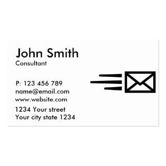 Correo urgente tarjetas de visita