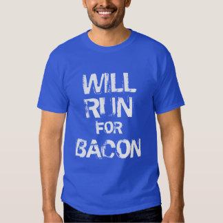 Correrá para el tocino camisas