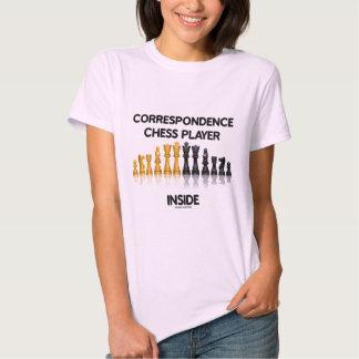 Correspondence Chess Player Inside (Chess Set) T Shirt