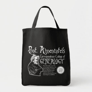 Correspondence College Of Genealogy Canvas Bags