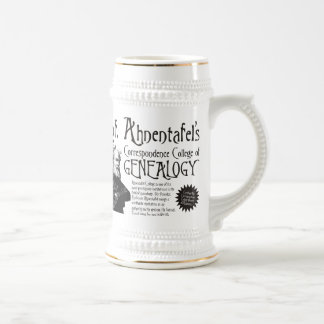 Correspondence College Of Genealogy Beer Stein