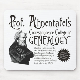 Correspondence College Of Genealogy Mouse Pad