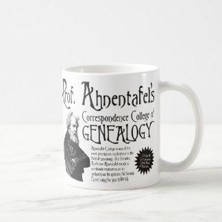 Correspondence College Of Genealogy Classic White Coffee Mug
