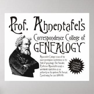 Correspondence College Of Genealogy Print
