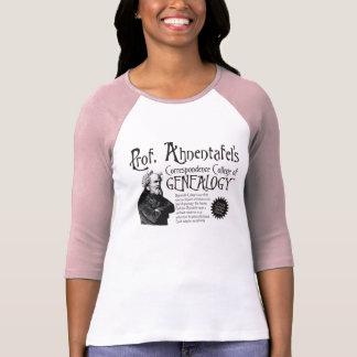 Correspondence College Of Genealogy T-shirt